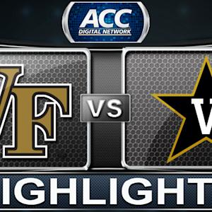 Wake Forest vs Vanderbilt | 2013 ACC Football Highlights