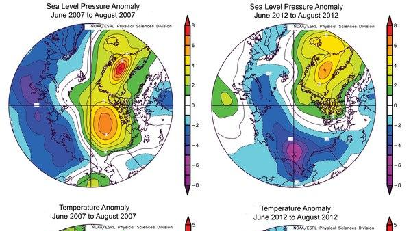Record Arctic Storm Melted Sea Ice