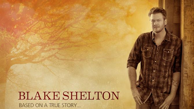 """This CD cover image released by Warner Bros. shows """"Based on a True Story,"""" by Blake Shelton. (AP Photo/Warner Bros.)"""