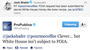 Beer Geeks Determined to Unlock Obama's Home-Brew Recipe