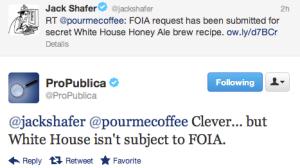 Beer Geeks Determined to Unlock Obama's Home-Brew Recipe
