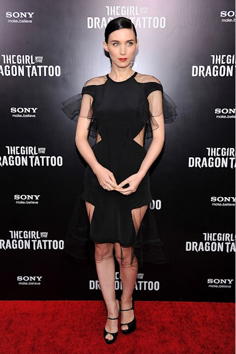 The Girl with the Dragon Tattoo NY Premiere Rooney Mara