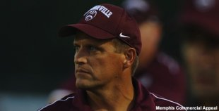 Collierville football coach Shawn Abel