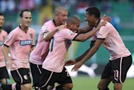 Primi gol in Serie A per Rios e Sau, Palermo-Cagliari 1-1 al Berbera