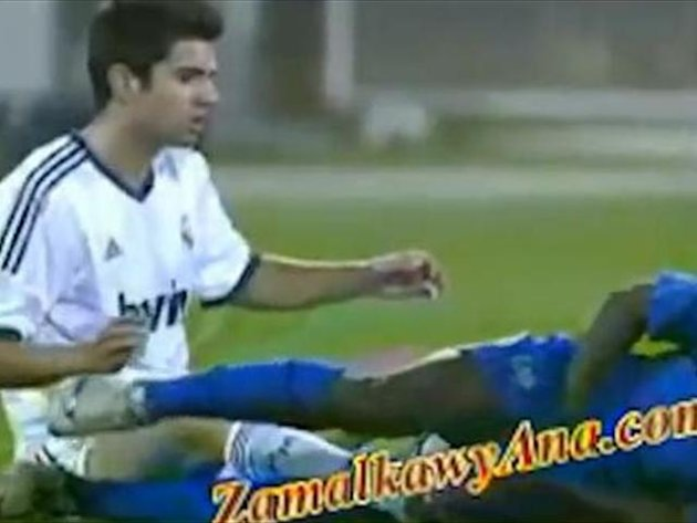 Enzo Zidane lashes out (just like his dad)
