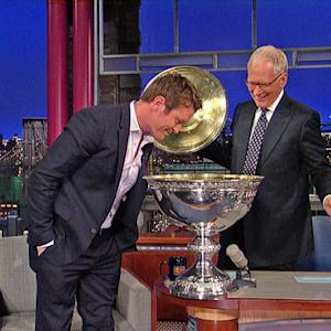 David Letterman - 2013 Indy Car Champion, Scott Dixon