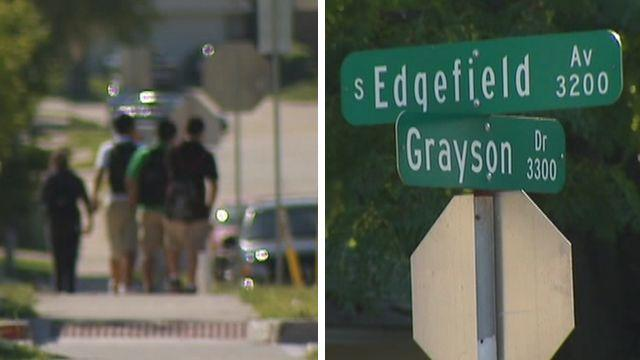 Tween attacked with golf club on his way to school