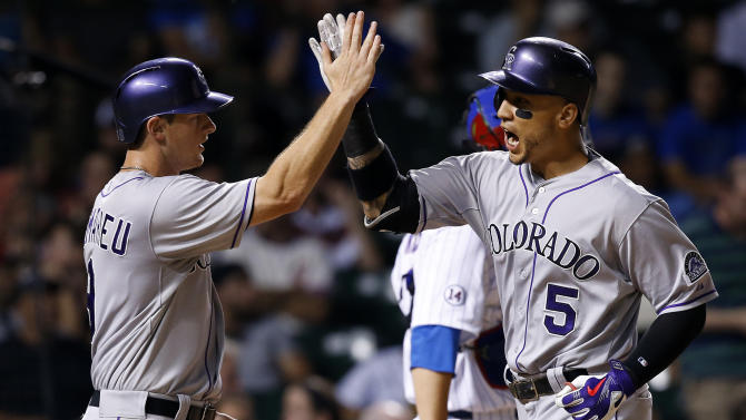 Bryant's 2-run HR in 9th lifts Cubs to 9-8 win over Rockies