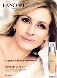 julia roberts ad banned by ASA in UK