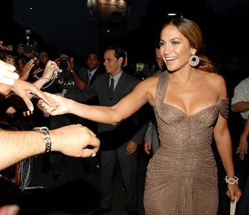 Jennifer Lopez at the San Juan, Puerto Rico premiere of Picturehouse's El Cantante
