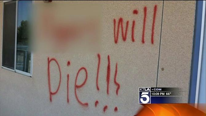 Racist Graffiti at Local High School Shocks Students, Parents