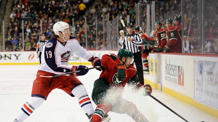 Columbus Blue Jackets v Minnesota Wild