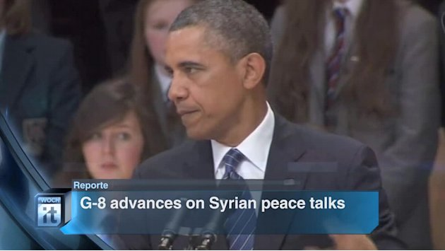 Breaking News Headlines: G-8 Advances on Syrian Peace Talks