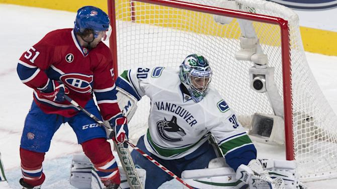 Plekanec scores late as Canadiens beat Canucks