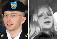 Chelsea Manning | Photo Credits: Saul Loeb/AFP/Getty Images; Reuters/Landov