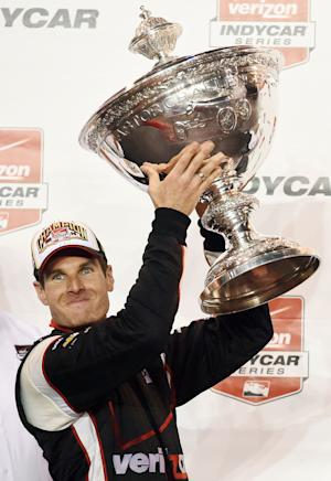 Will Power cashes in on 1st IndyCar title