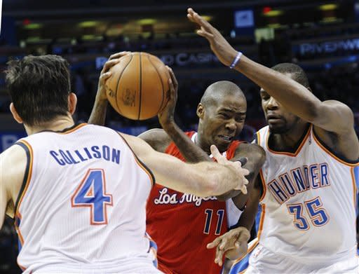 Thunder edge Clippers 117-111 in overtime
