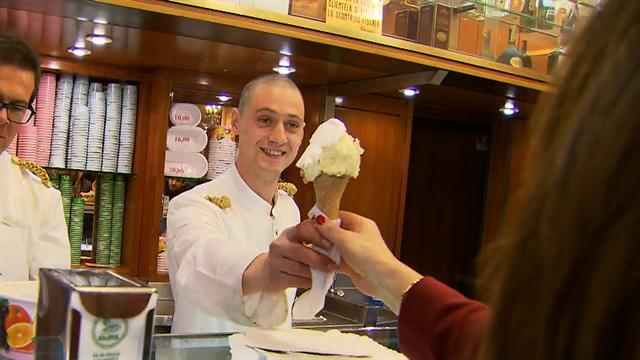 """CTM"" co-hosts talk gelato in Rome"
