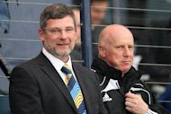 Peter Houston (right) and Craig Levein