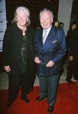 Premiere: Carroll O'Connor at the premiere of MGM's Return To Me - 2000