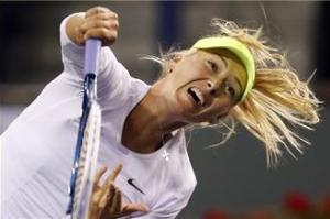 Sharapova advances at Indian Wells