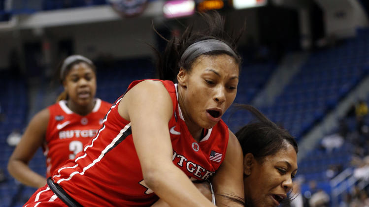 NCAA Womens Basketball: Big East Tournament-Rugers vs USF