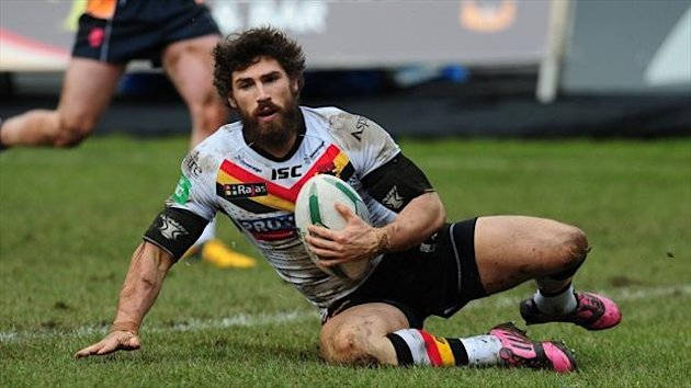 Stand-off Jarrod Sammut led the way with four tries for Bradford