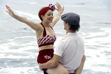 Rachel McAdams as Allie and Ryan Gosling as Noah in New Line's The Notebook