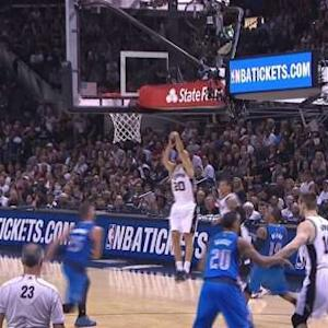 Ginobili's Three-Pointer