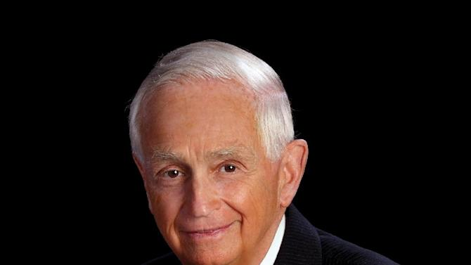 This undated photo provided Marriott International, shows J.W. Marriott Jr. the CEO of Marriott International Inc., the company his father founded with just a root beer stand in 1927. The hotel executive, who turns 80 on March 25, 2012, is stepping down as CEO but will remain at the company as chairman of the board. (AP Photo/Marriott International Inc.)