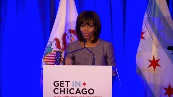 Michelle Obama: 'Hadiya Pendleton was me; And I was her'
