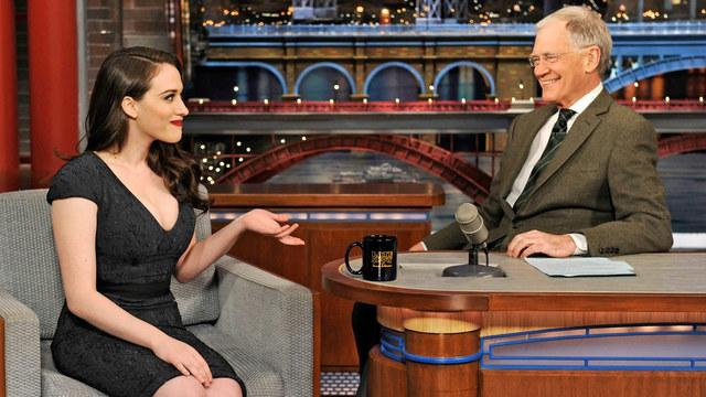 David Letterman - Kat Dennings' Trip to the E.R.