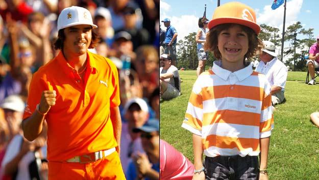 Out and About: Furyk's birthday crew, Bud's buds and Little Rickie