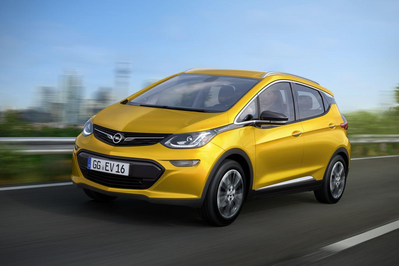 Here's the Opel Ampera-e, GM's Chevy Bolt for Europe