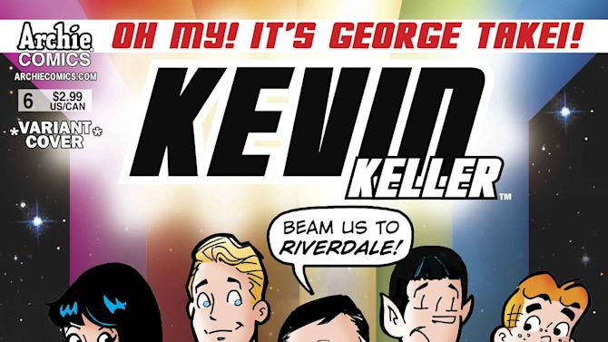 George Takei beams into Archie's Riverdale