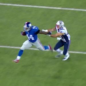New York Giants running back Andre Williams makes a 38-yard run