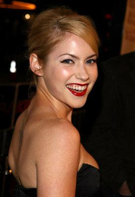 Laura Ramsey at the LA premiere of Dreamworks' She's the Man