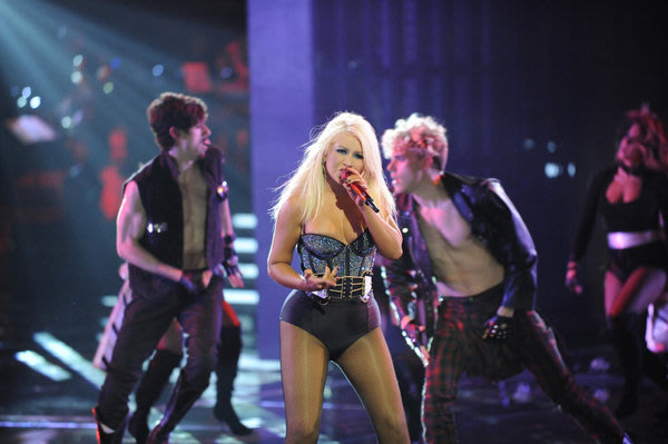 Christina Aguilera en 'The Voice'