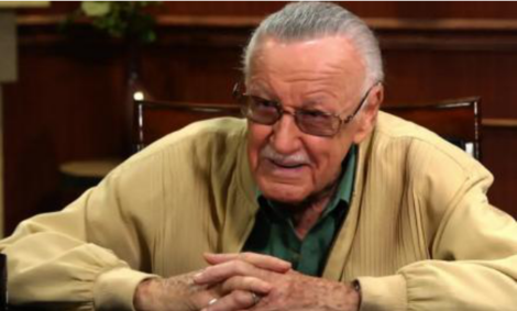 Stan Lee talks superheroes with Larry King