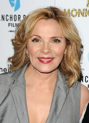 """FILE - In this March 29, 2011 file photo, actress Kim Cattrall attends a screening of """"Meet Monica Velour"""" in New York. Cattrall and Paul Gross will star on Broadway this autumn in Noël Coward's """"Private Lives,"""" opening Thursday Nov. 17, 2011. The limited engagement will run through Feb. 5  (AP Photo/Peter Kramer, file)"""