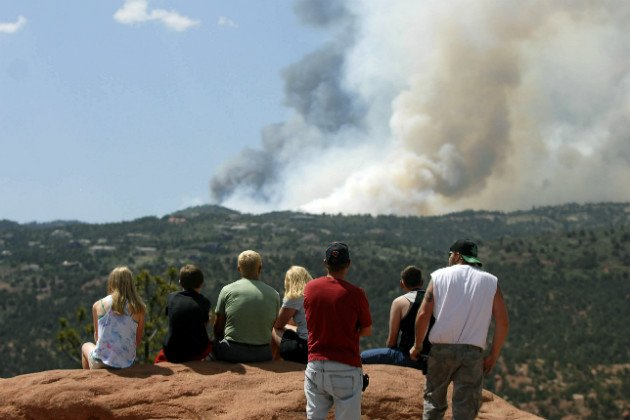Colorado wildfire: Air Force tanker pilots call fight of Waldo Canyon Fire ...