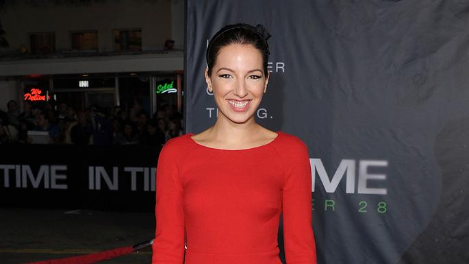 In Time 2011 LA Premiere Vanessa Lengies