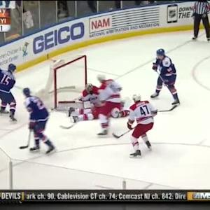 Cam Ward Save on Cal Clutterbuck (16:06/1st)