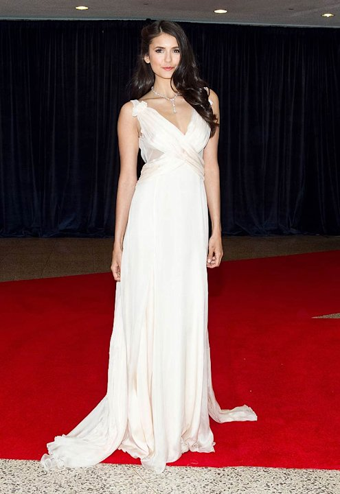 Nina Dobrev White House Dnnr