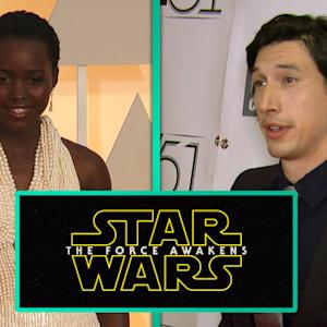 'Vanity Fair' Gives Fans a Glimpse of Adam Driver and Lupita Nyong'o
