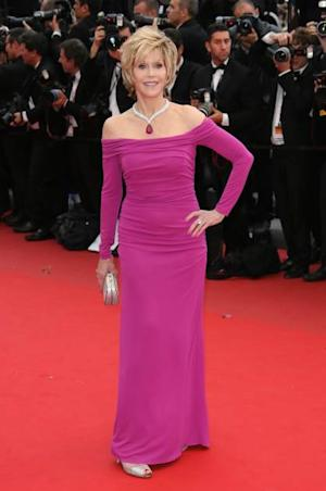 Jane Fonda attends the premiere of 'Inside Llewyn Davis' at The 66th Annual Cannes Film Festival on May 19, 2013 -- Getty Images