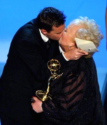 Matthew Perry and Doris Roberts