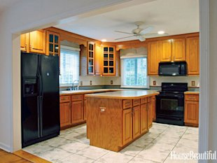 Before & After: An Incredible Kitchen Makeover on a Budget | At
