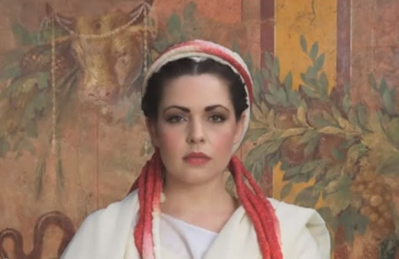 ... project on yahoo at Oldest Roman Hairstyle Recreated for First Time