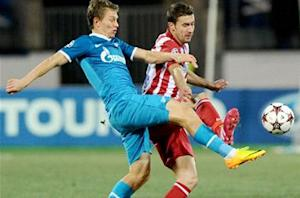 Zenit 1-1 Atletico Madrid: Courtois howler gifts Russians a point